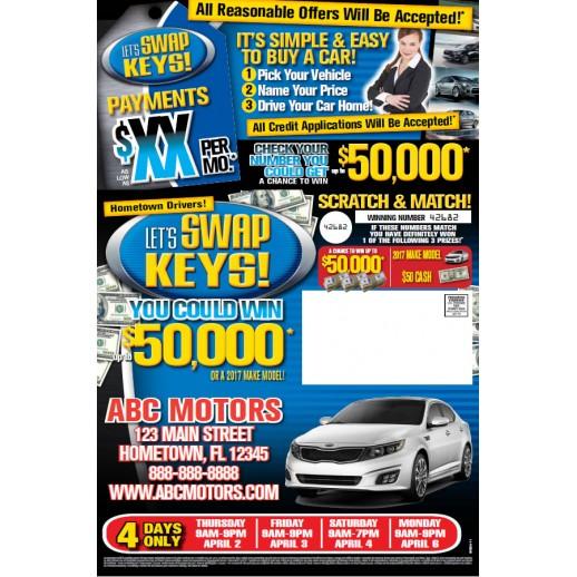 Let's Swap Keys - Blue