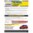 Automotive Trade & Upgrade Campaign - Direct Mail