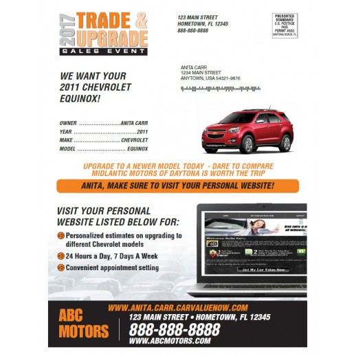 Trade & Upgrade - Orange