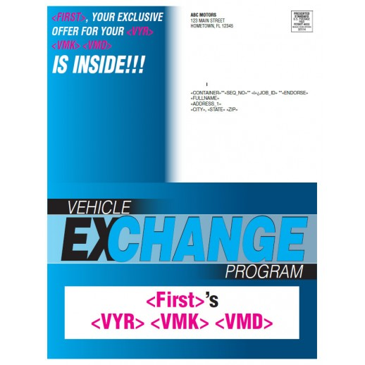 Vehicle Exchange Buyback Program - Blue