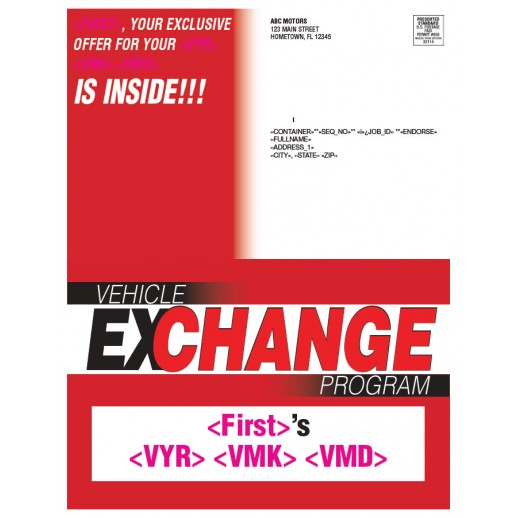 Vehicle Exchange Buyback Program - Red