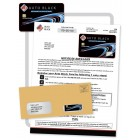 Auto Black Credit - Embossed Card Mailer