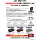 Black Book Buyback Mailer - 3 Offers - Red