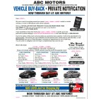 Black Book Buyback Mailer - 3 Offers - Blue