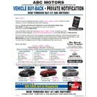 Black Book Buyback Mailer - 3 Offers - Blue