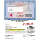 Expiring Funds Notice & Check - Full window envelope