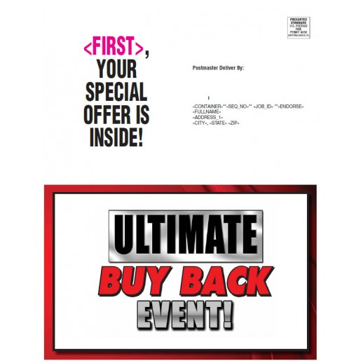 Ultimate Buy Back Event - Red