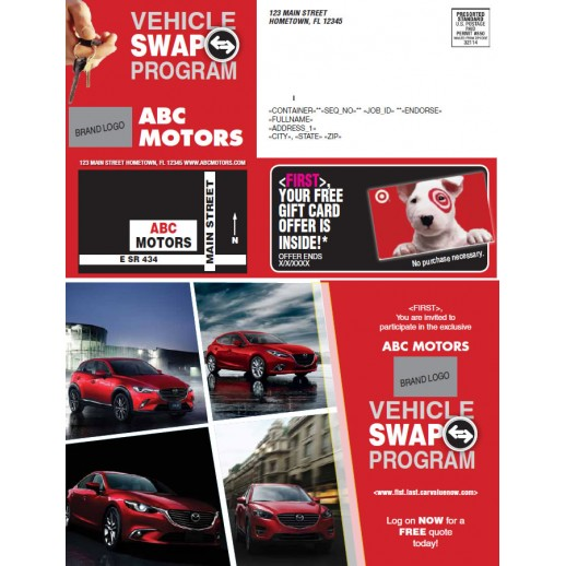 Vehicle Swap Buyback - Red
