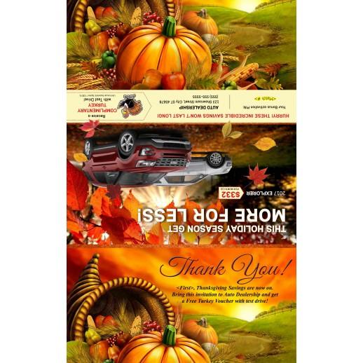 Autumn Black Book Thanksgiving Buyback Mailer -