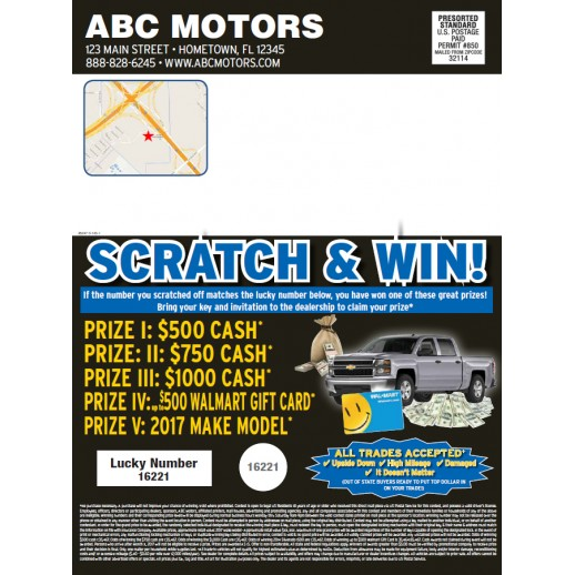 Magazine - 8 Page - Blue - Automotive Direct Mail