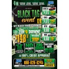 Black Tag Event - Black Friday All Month Long - Trifold 12x18