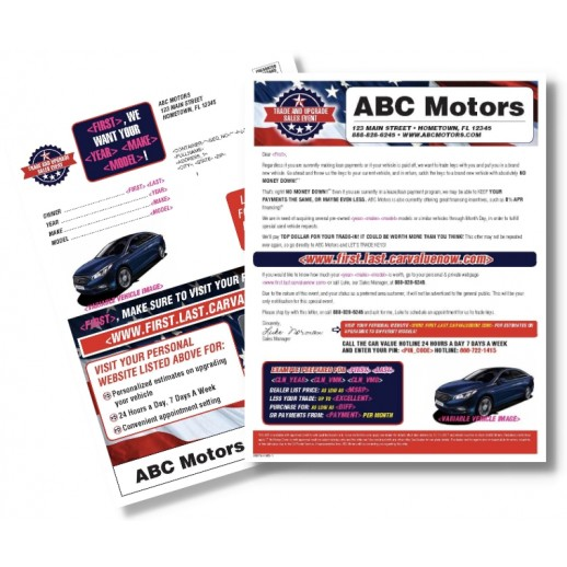 Automotive Direct Mail >> Memorial Day Automotive Direct Mail Buyback Mailer Trade Upgrade