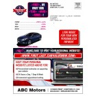 Labor Day -  Automotive Direct Mail Buyback mailer - Trade & Upgrade Version