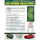Automotive TAX Refund Sales Event - Credit