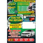 Double Your Down Payment - Automotive Tax Refund Tri-fold
