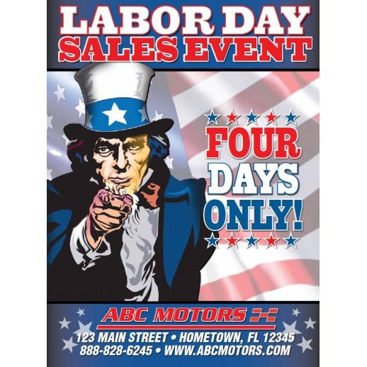 Magazine - 4 Page Labor Day - Automotive Direct Mail