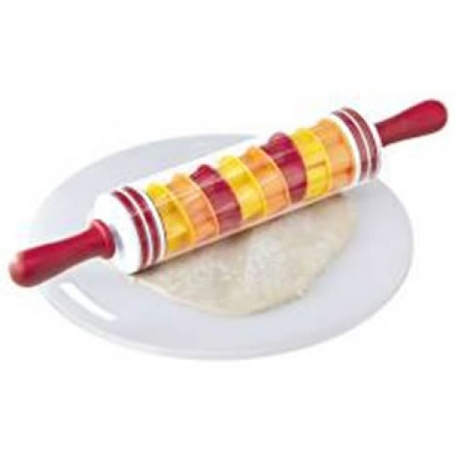 10 Piece Rolling Pin and Cookie Cutter Set