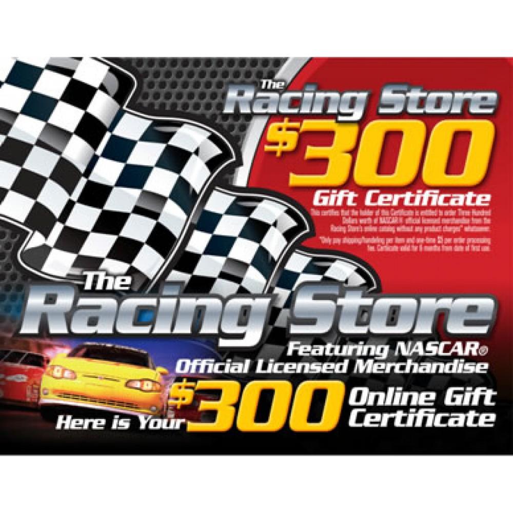 $300 Racing Store Card