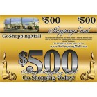 $500 Online Shopping Card