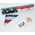 Patriotic Flag Pole Kit