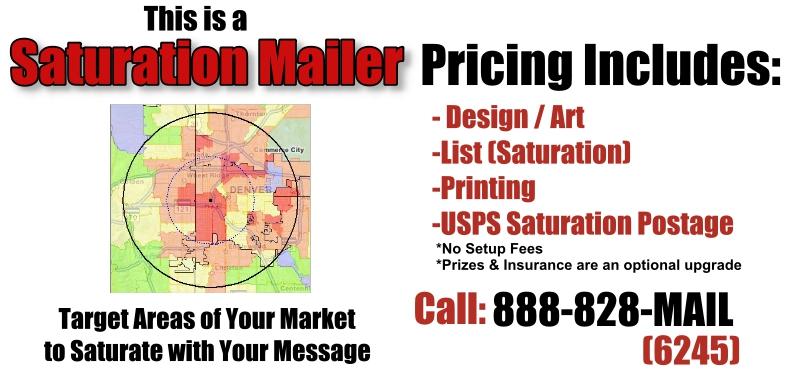 Automotive Saturation Direct Mail