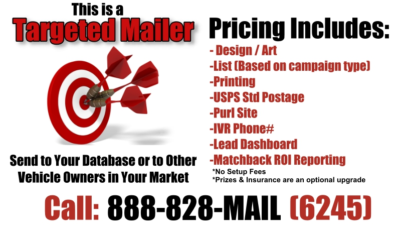 Automotive Targeted Direct Mail